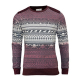 Men's Jumper | Brave Soul Gothika Aztec Gothic Skull Sweatshirt Casual Jumper - Kandor Clothing Company Ltd UK