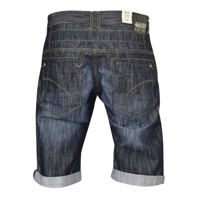 New Mens Shorts Jeans Crosshatch Combat Casual Denim Cargo with Pockets - Kandor Clothing Company Ltd UK
