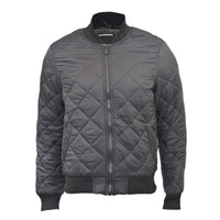 Mens Bomber Jacket Seven Series MA1 Flight Padded Coat Diamond Pattern S - XXL - Kandor Clothing Company Ltd UK