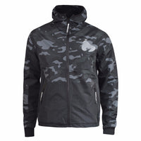 Mens Jacket Camo Ape Money Clothing  Zip Through Coat - Kandor Clothing Company Ltd UK