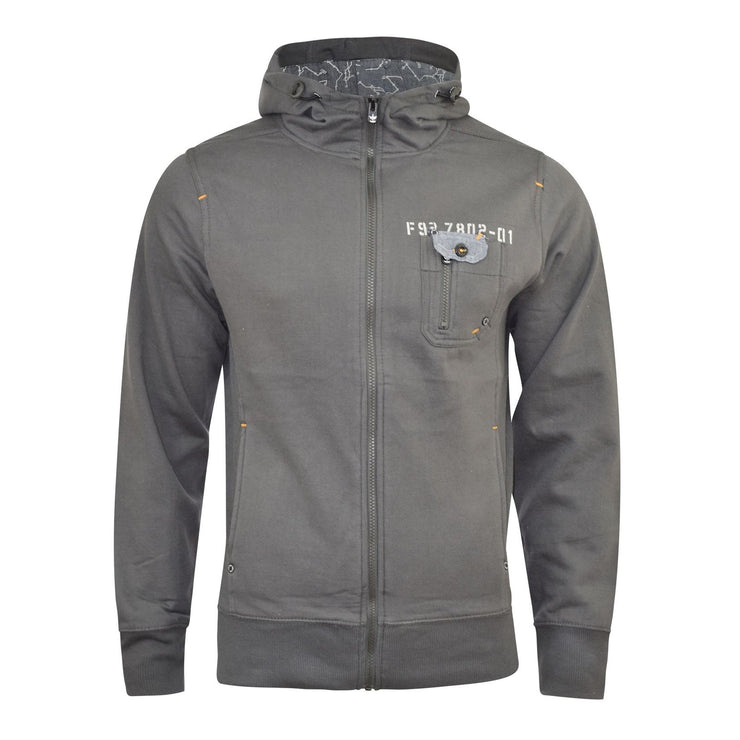 Mens Firetrap Zipped Hoodies Quality Appach Pullover Sweatshirt - Kandor Clothing Company Ltd UK
