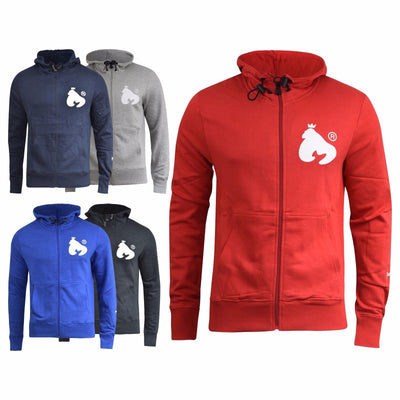 Mens Hoodie Money Clothing Zip Thru Sweatshirt Showdown Jumper - Kandor Clothing Company Ltd UK
