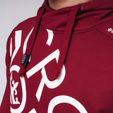 Mens hoodie  crosshatch bringer Top - Kandor Clothing Company Ltd UK