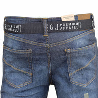 Mens Jeans Smith and Jones Denim Bottoms Trousers FREE BELT Straight Leg Pants - Kandor Clothing Company Ltd UK