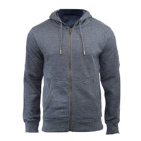 Mens Hoodie Smith & Jones Amorino Zip Up Hooded Sweater, Warm Sweatshirt - Kandor Clothing Company Ltd UK