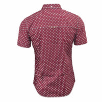 New Firetrap Casual Mens Short Sleeve Shirt, Bulstrode Print patterned Shirt - Kandor Clothing Company Ltd UK