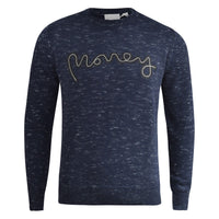 Mens Jumper Money Clothing Crew Neck Knitwear Sweatshirt Sweater - Kandor Clothing Company Ltd UK