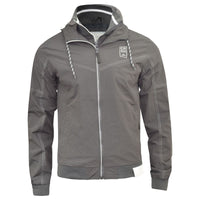 Mens Jacket Crosshatch Coat Evolutive Bomber Lined Casual Outdoor Jacket - Kandor Clothing Company Ltd UK