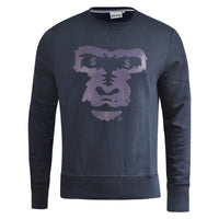 Mens Jumper Money Clothing Ape Face Crew Neck Sweatshirt - Kandor Clothing Company Ltd UK