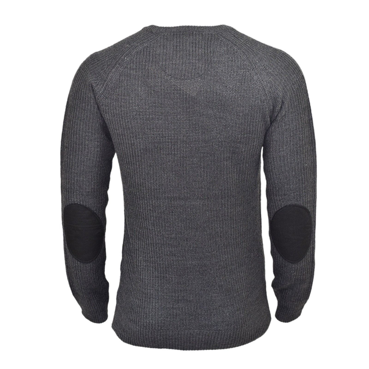 8c8ff166708 Men's Jumper | Brave Soul Vulcan Knitted Crew Neck With Zipped Chest Pocket