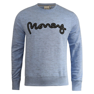 Mens Jumper Money Clothing Rope Sig Crew Neck Sweatshirt - Kandor Clothing Company Ltd UK