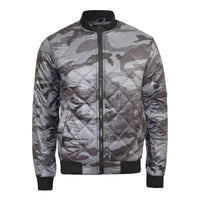 Mens Camouflage Bomber Jacket Smith and Jones Romanesque MA1 Flight Padded Coat - Kandor Clothing Company Ltd UK