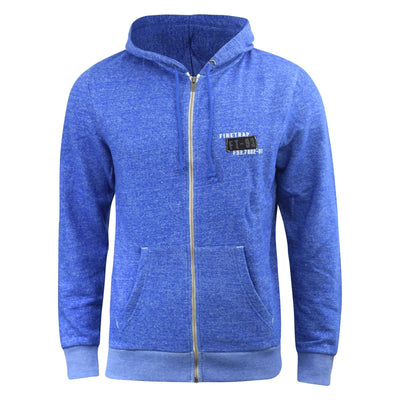 Mens Zip Hoodie Firetrap Designer Overhead Terront Hooded Jumper Sweatshirt Top - Kandor Clothing Company Ltd UK