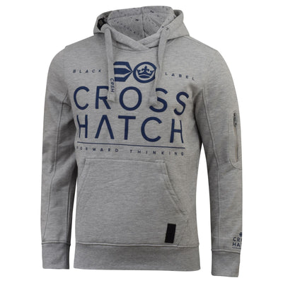 Mens crosshatch hoodie festus - Kandor Clothing Company Ltd UK