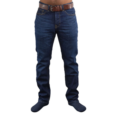 Mens Straight jeans crosshatch Lincoln - Kandor Clothing Company Ltd UK