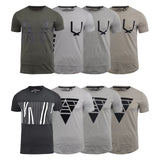 Mens T-Shirt Loyalty and Faith Various Crew Neck Tee Top - Kandor Clothing Company Ltd UK
