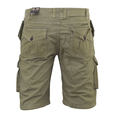 New Mens Cargo Short Seven Series Combat Drawstring Summer Short - Kandor Clothing Company Ltd UK