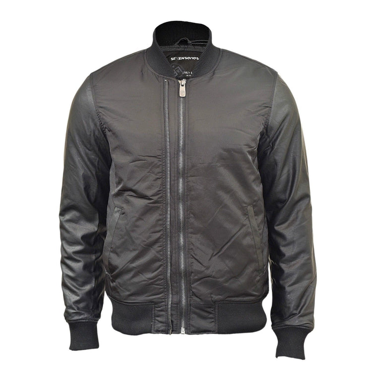 Mens Jacket Rawcraft MA1 Flight  With Contrast Padded Bomber jacket Coat - Kandor Clothing Company Ltd UK