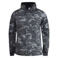 Mens Jacket Camo Sig Money Clothing  Zip Through Coat - Kandor Clothing Company Ltd UK