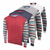 Mens Jumper Tokyo Tiger  Thick Knitted Crew Neck Pullover Cardigan and  Sweater. - Kandor Clothing Company Ltd UK