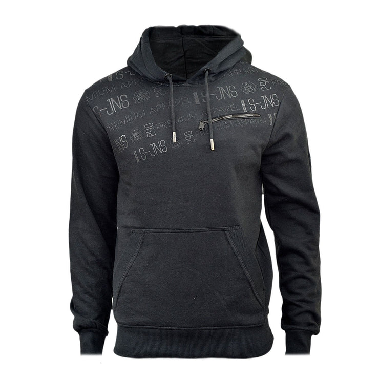 Mens Hoodie Smith & Jones Herculaneum o/head Hoody, Hooded Sweater - Kandor Clothing Company Ltd UK