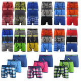 Mens Boxers Crosshatch Shorts Various 3PK Trunks Underwear Gift Set 3 Pack S-XXL - Kandor Clothing Company Ltd UK