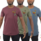 Mens T-Shirt Juice Teke Longline Crew Neck Tee Top - Kandor Clothing Company Ltd UK