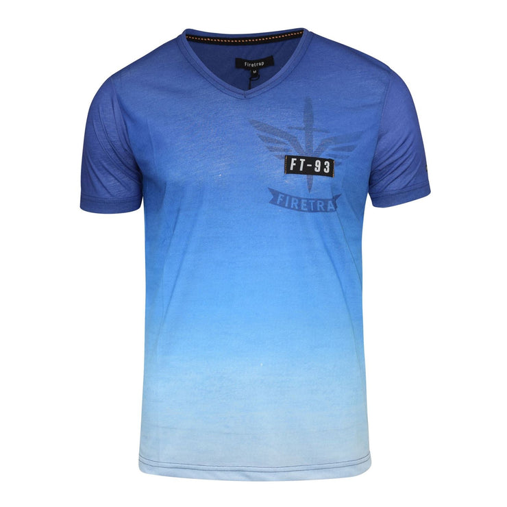 Mens firetrap dagaut t-shirt Top - Kandor Clothing Company Ltd UK