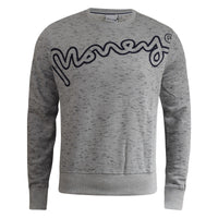 Mens Jumper Money Clothing Hardway Crew Neck Sweatshirt - Kandor Clothing Company Ltd UK
