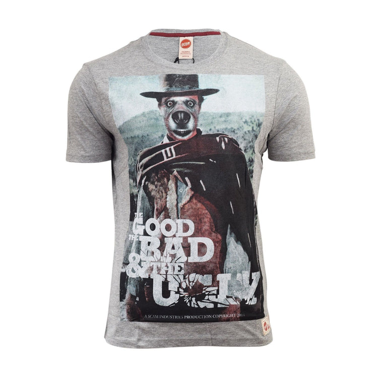 Men T Shirt, Crew Neck graphic Tee, Mens Dog Face Photo Graphic Tee - UK Seller - Kandor Clothing Company Ltd UK