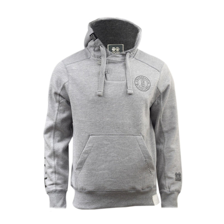 Mens Hoodies By Crosshatch Pullover, Upper Button Sweatshirt, Jumper M to XXL - Kandor Clothing Company Ltd UK