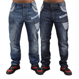 Mens cargo jeans Rawcraft Brother - Kandor Clothing Company Ltd UK