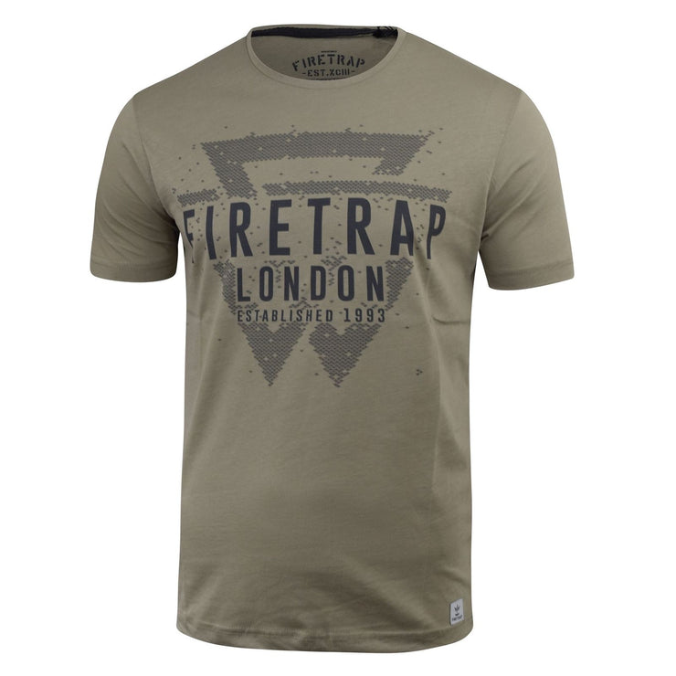 Mens Firetrap T-shirt Morrin Top - Kandor Clothing Company Ltd UK