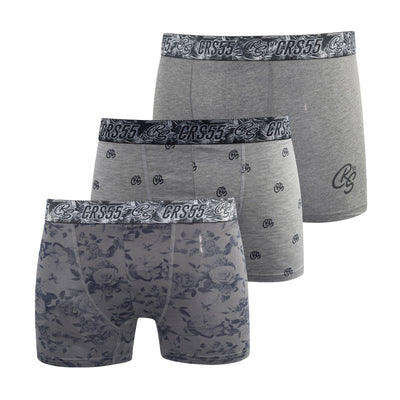 Crosshatch Mens Boxers Shorts (6 Pack) Multipacked  Underwear Gift  Set Pendglea - Kandor Clothing Company Ltd UK