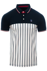 Mens Polo Shirt Star Soul Star Contrast Polo Tackle - Kandor Clothing Company Ltd UK