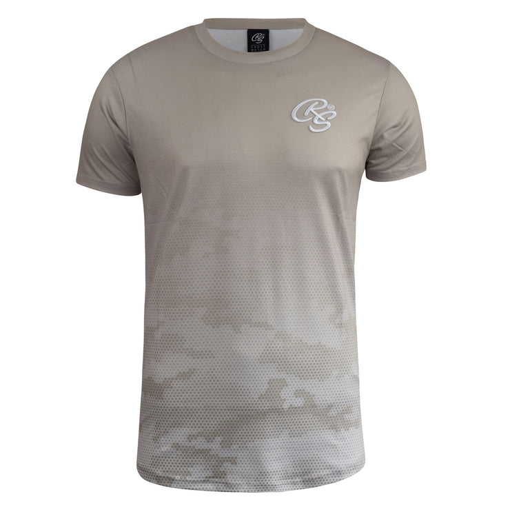 Mens T-shirt Crosshatch CamoTop Danehurst - Kandor Clothing Company Ltd UK