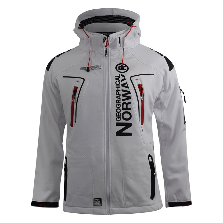 Men's Jacket Geographical Norway Softshell Techno Outdoor Sport Coat - Kandor Clothing Company Ltd UK