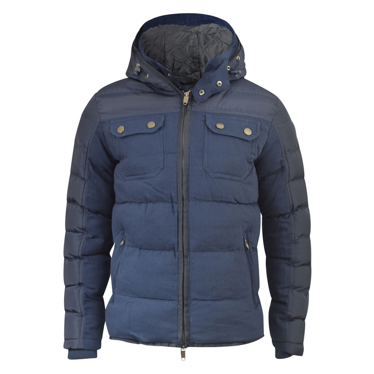 Mens Parka jacket Smith and Jones Chaleit - Kandor Clothing Company Ltd UK