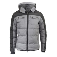Mens Jacket Padded Winter Hooded Chaleit Smith and Jones Zip Parka Coat - Kandor Clothing Company Ltd UK
