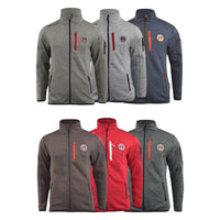 Mens Fleece Jacket Geographical Norway upshort - Kandor Clothing Company Ltd UK