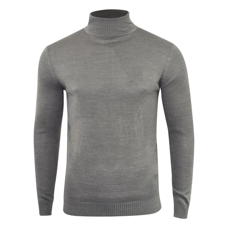 Mens Jumper Soulstar Turtle Neck Light Knitwear Sweatshirt Sweater Dagenham - Kandor Clothing Company Ltd UK