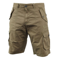 Men Chinos cargo short crosshatch thorley - Kandor Clothing Company Ltd UK