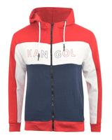 Mens Hoodie Kangol Sweatshirt  Hooded Jumper Top Pullover Perry - Kandor Clothing Company Ltd UK