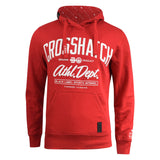 Mens Hoodie Crosshatch Reynard Sweatshirt  Hooded Top Pullover - Kandor Clothing Company Ltd UK