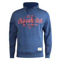 Mens Hoodie Crosshatch Chong Applique Sweatshirt Jumper - Kandor Clothing Company Ltd UK