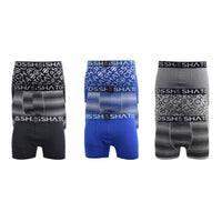 Mens Boxers Shorts Crosshatch Multipacked 3PK Underwear Gift Set 3 Pack Formbee