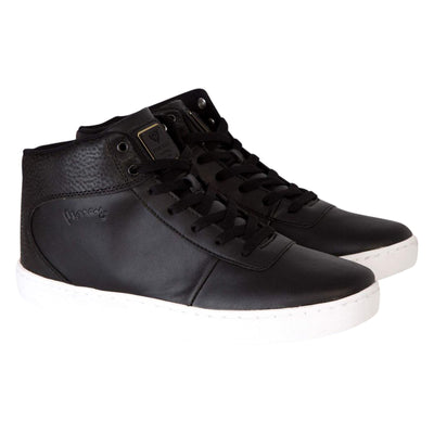 Mens Trainers Born Rich ONYX Lace up Hi Top Ankle Boots Shoes - Kandor Clothing Company Ltd UK