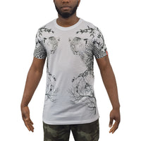 Mens T-Shirt Juice Simba Sublimated Longline Tee Top - Kandor Clothing Company Ltd UK