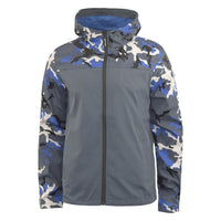 Mens Camo Jacket Smith and Jones Full Zip Up Water Resistant Windproof Coat Cerone