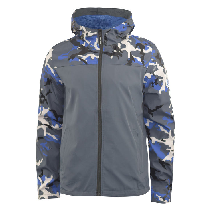 Mens Camo Jacket Smith and Jones Full Zip Up Water Resistant Windproof Coat Cerone - Kandor Clothing Company Ltd UK
